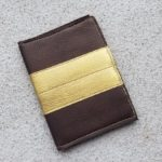 Brown with Gold Stripe PPH